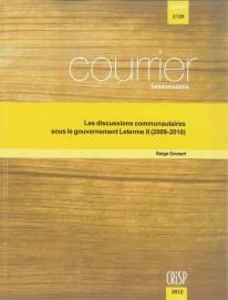 Les discussions communautaires sous le gouvernement Leterme II (2009-2010)