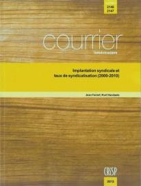 Implantation syndicale et taux de syndicalisation (2000-2010)