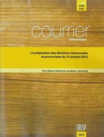 La préparation des élections communales du 14 octobre 2012
