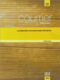 La prépension conventionnelle (1974-2012)
