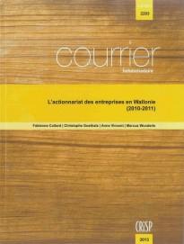 L'actionnariat des entreprises en Wallonie (2010-2011)