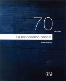 La concertation sociale