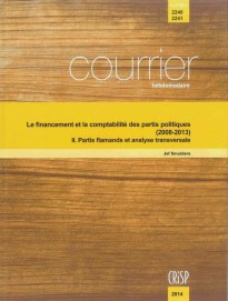 Le financement et la comptabilité des partis politiques (2008-2013) - II