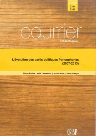 L'évolution des partis politiques francophones (2007-2013)