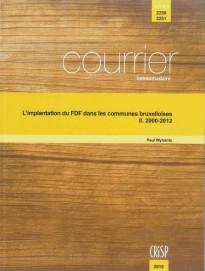 L'implantation du FDF dans les communes bruxelloises – II. 2000-2012