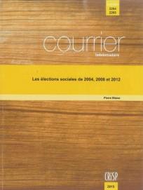 Les élections sociales de 2004, 2008 et 2012