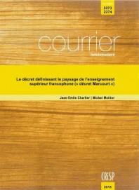 """Le décret définissant le paysage de l'enseignement supérieur francophone (""""décret Marcourt"""")"""