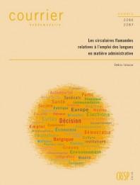 Les circulaires flamandes relatives à l'emploi des langues en matière administrative