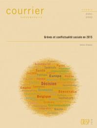 Grèves et conflictualité sociale en 2015