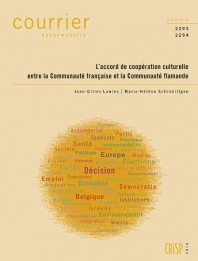 L'accord de coopération culturelle entre la Communauté française et la Communauté flamande