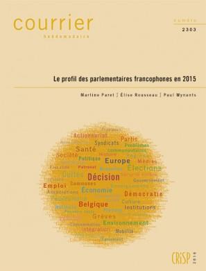 Le profil des parlementaires francophones en 2015