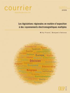 Les législations régionales en matière d'exposition à des rayonnements électromagnétiques multiples