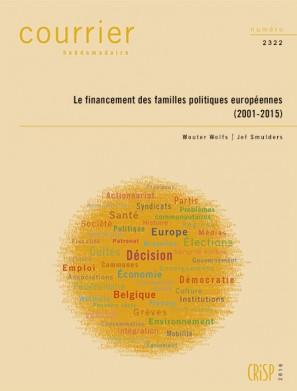 Le financement des familles politiques européennes (2001-2015)