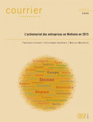 L'actionnariat des entreprises en Wallonie en 2015