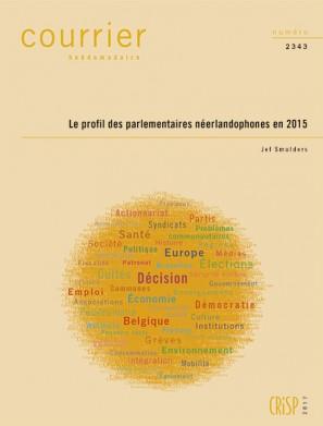 Le profil des parlementaires néerlandophones en 2015