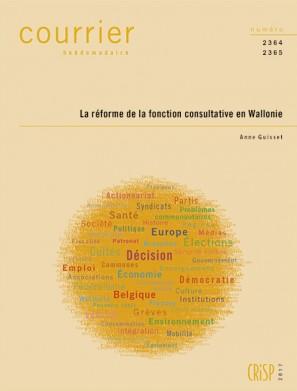 La réforme de la fonction consultative en Wallonie