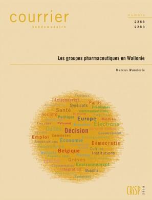 Les groupes pharmaceutiques en Wallonie