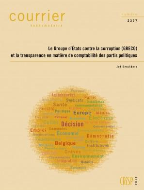 Le Groupe d'États contre la corruption (GRECO) et la transparence en matière de comptabilité des partis politiques