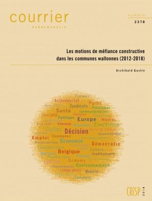 Les motions de méfiance constructive dans les communes wallonnes (2012-2018)