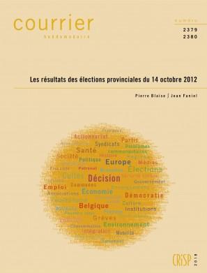 Les résultats des élections provinciales du 14 octobre 2012