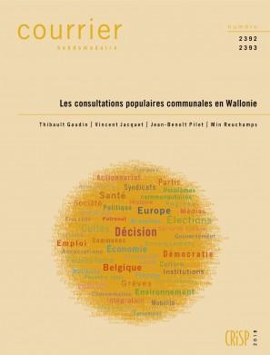 Les consultations populaires communales en Wallonie