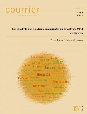 Les résultats des élections communales du 14 octobre 2018 en Flandre