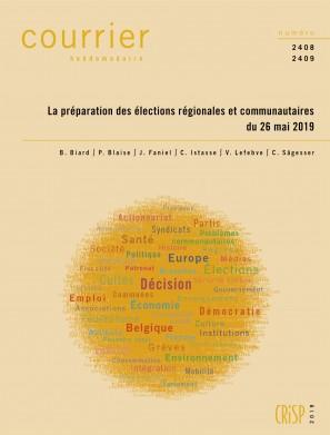 La préparation des élections régionales et communautaires du 26 mai 2019