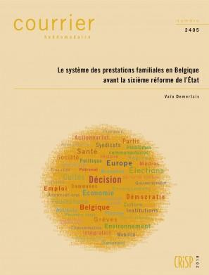 Le système des prestations familiales en Belgique avant la sixième réforme de l'État