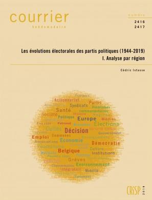 Les évolutions électorales des partis politiques (1944-2019). I. Analyse par région