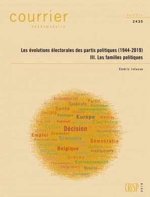 Les évolutions électorales des partis politiques (1944-2019) III. Les familles politiques