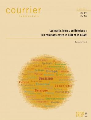 Les partis frères en Belgique : les relations entre le CDH et le CD&V