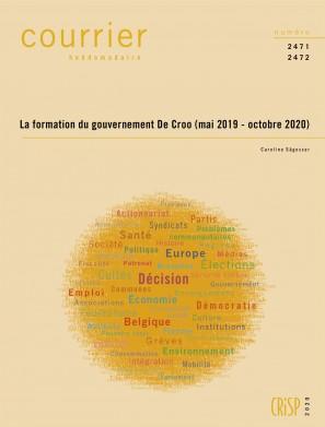 La formation du gouvernement De Croo (mai 2019 - octobre 2020)