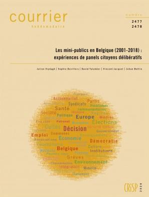 Les mini-publics en Belgique (2001-2018) : expériences de panels citoyens délibératifs