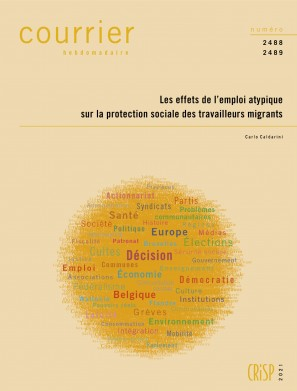 Les effets de l'emploi atypique sur la protection sociale des travailleurs migrants