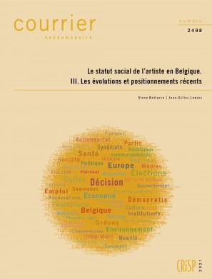 Le statut social de l'artiste en Belgique. I. Le cadre actuel