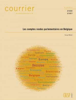 Les comptes rendus parlementaires en Belgique